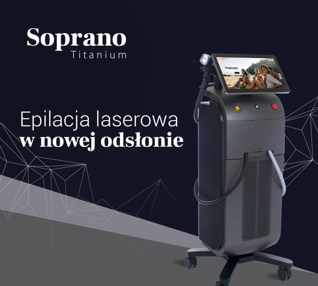 promocja-obrazek Depilacja Laserwa Soprano Titanium